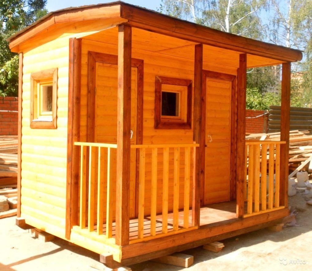 Построить туалет из блоков на даче своими руками